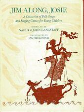 JIM ALONG, JOSIE folk songs & singing games for children HB 1970 Pienkowski Illu