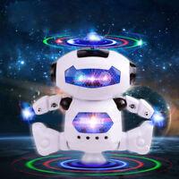 Dancing Robot Toys For Kids Toddler 3 4 5 6 7 8 9 Year Old Age Boy Girl Gift YK