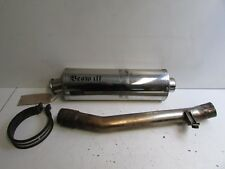 Suzuki GSF650 SA Bandit K5 K6 2005 2006 Beowulf Exhaust End Can & Link Pipe  J23