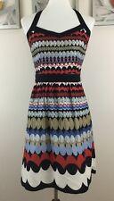 Ann Taylor LOFT Women's Apron Dress Sz 2 Petite 100% Cotton Lined