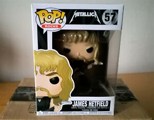 BNIB* Funko POP! Rocks Metallica JAMES HETFIELD #57 Vinyl Figure 2017