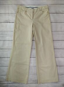 Express Design Studio The Editor Wide Leg Flare Pant , Khaki Beige, Womens Sz 4