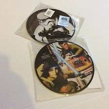 "STAR WARS REBELS THEME LIMITED EDITION 7"" VINYL PICTURE DISC SEALED MINT NEW"