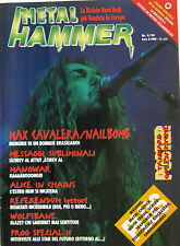 METAL HAMMER 4 1994 Max Cavalera Alice In Chains Manowar Metal Church Wolfbane