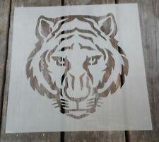 Cara De Tigre Big Cat Mylar plantilla ideal para la decoración de pintura de Aerosol de ciclismo