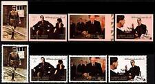 AJMAN - FAMOUS PEOPLE - GENERAL de GAULLE MNH + imperforated WWII, MILITARY A19