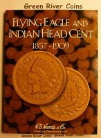 1857 1909 Flying Eagle  Indian Head Cent Collection  #IC43 New Harris Folder