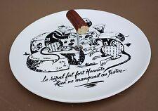 Plateau à fromages GIEN FABLE JEAN DE LA FONTAINE vintage ancien RAT cheese tray