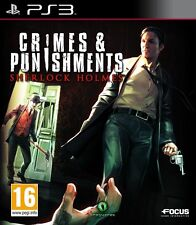 SHERLOCK HOLMES : CRIMES ET PUNISHMENTS JEU PS3 NEUF