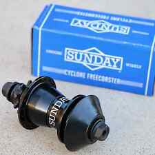 Sunday Bmx Bike Cyclone Clutch-Based Freecoaster Bicycle Hub Lhd Black Odyssey