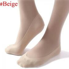 Cotton Lace Short Stocking Invisible Anti Skid Boat Socks Beige