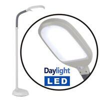 Floor Standing Daylight LED Reading Hobby Work Craft SAD Standard Lamp Light New