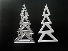 Sizzix DIE Cutter & Máquina De Estampación Decoración árbol de Navidad se adapta a Big Shot Cuttlebug