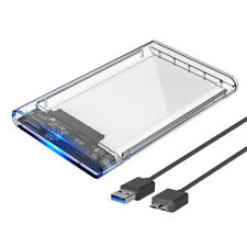 1X(2.5 External Hard Drive Disk Case SSD / HDD Caddy USB 3.0 Portable Solid T8U2
