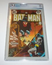 Batman #253 - 1973 DC Bronze Age Issue - Shadow cover and issue - PGX NM- 9.2