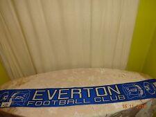 "Everton FC Original Fan Écharpe ""Everton Football Club"" Top"