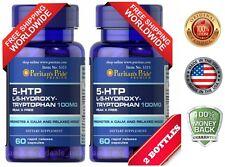 Puritan's Pride 5-HTP 100 mg (Griffonia Simplicifolia) - 60 Capsules(2 PACK)