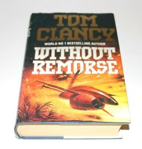 WITHOUT REMORSE By Tom Clancy - Hardcover Book
