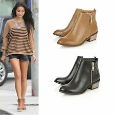 Dolcis Zip Low Heel (0.5-1.5 in.) Casual Boots for Women