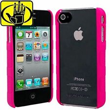 New Body Glove Snap-On Clear/Pink Slim Case Cover for iPhone 4S 4 Verizon AT&T