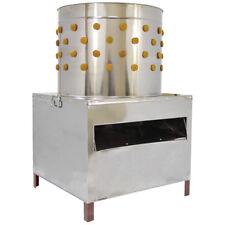 Spennatrice Pollame Pollo macchina per spiumatura Piume Volatili in acciaio inox 60cm
