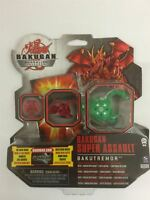 Bakugan Gundalian Invaders Super Assault Bakutremor Green