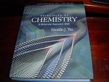 """INSTRUCTOR'S COPY LIKE NEW COND"" Principles Of Chemistry 2ND EDITION (2012) Tro"