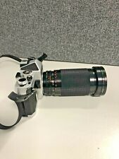 Chinon CS35mm film camera with Sirius 28-200mm f4-5.6 macro lens (Our refPhoto8)