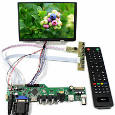 "TV HDMI VGA AV USB AUDIO LCD Controller Board 7"" N070ICG LD11280x800 IPS LCD"