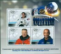 2018 Astronauts Boeing CST-100 Starliner SPACEX #1 Behnken Hurley Glover
