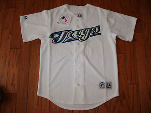 Toronto Blue Jays White Home Jersey w/Tags  Size XL (Adult)