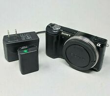 Sony Alpha A5000 20.1MP Mirrorless Digital Camera (Body ONLY) - 16K Clicks