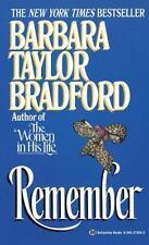 Remember - by Barbara Taylor Bradford Paperback