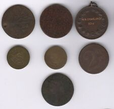 More details for old tokens and medal | pennies2pounds