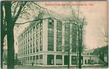 CRAWFORDSVILLE, Indiana  IN   SUPREME TIRE BEN HUR  1913    Postcard