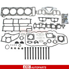 FOR 85~95 TOYOTA 2.4L PICKUP 4RUNNER CYLINDER HEAD GASKET BOLTS SET 22RE 22REC