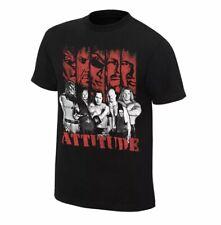WWE Attitude Era Stone Cold The Rock HHH Kane Undertaker Men Small Black T Shirt