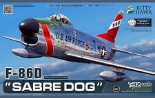 Kitty Hawk 1/32 North American F-86D Sabre Dog #32007  *New*Sealed*