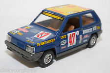 BBURAGO BURAGO FIAT PANDA 45 RALLY NEAR MINT CONDITION RARE SELTEN RARO
