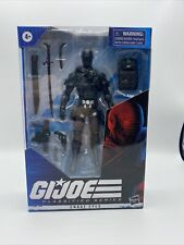 "G.I. Joe Classified Series 02 Snake Eyes 6"" Action Figure Wave 1 Hasbro"