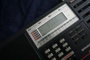 Sangean ATS-803A World Band Receiver. Vintage Radio