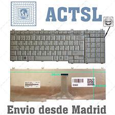 Keyboard Spanish for TOSHIBA Satellite L500D Plata – Silver