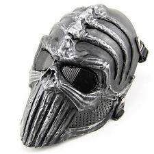 Skull Mask Outdoor Skeleton Helloween Protective Paintball Full Face Mask New