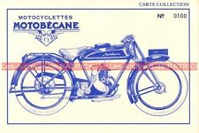 MOTOBECANE Type 175 2 temps Carte Postale Moto Motorcycle Postcard