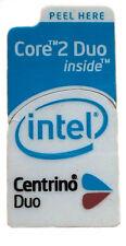 Intel Centrino Duo sticker logotipo pegatinas 16x33mm (303)