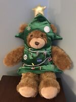 Build a Bear- Bear Plush Christmas Tree Outfit Costume Clothes