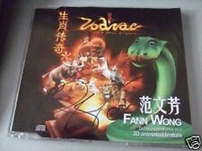 Fann Wong Autograph Zodiac soundtrack cd Limited Edn