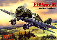 POLIKARPOV I 16 TYPE 28 (SOVIET AF MARKINGS) 1/72 ICM