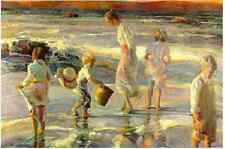 FROLICKING AT THE SEASHORE Don Hatfield #190/300 Sold Out COA