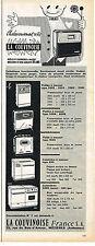 PUBLICITE ADVERTISING  1966  LA COUVINOISE   poeles à mazout cuisinières